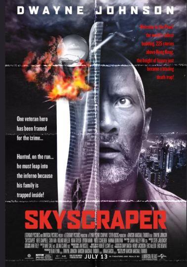 Skyscraper Vintage Poster like Die Hard