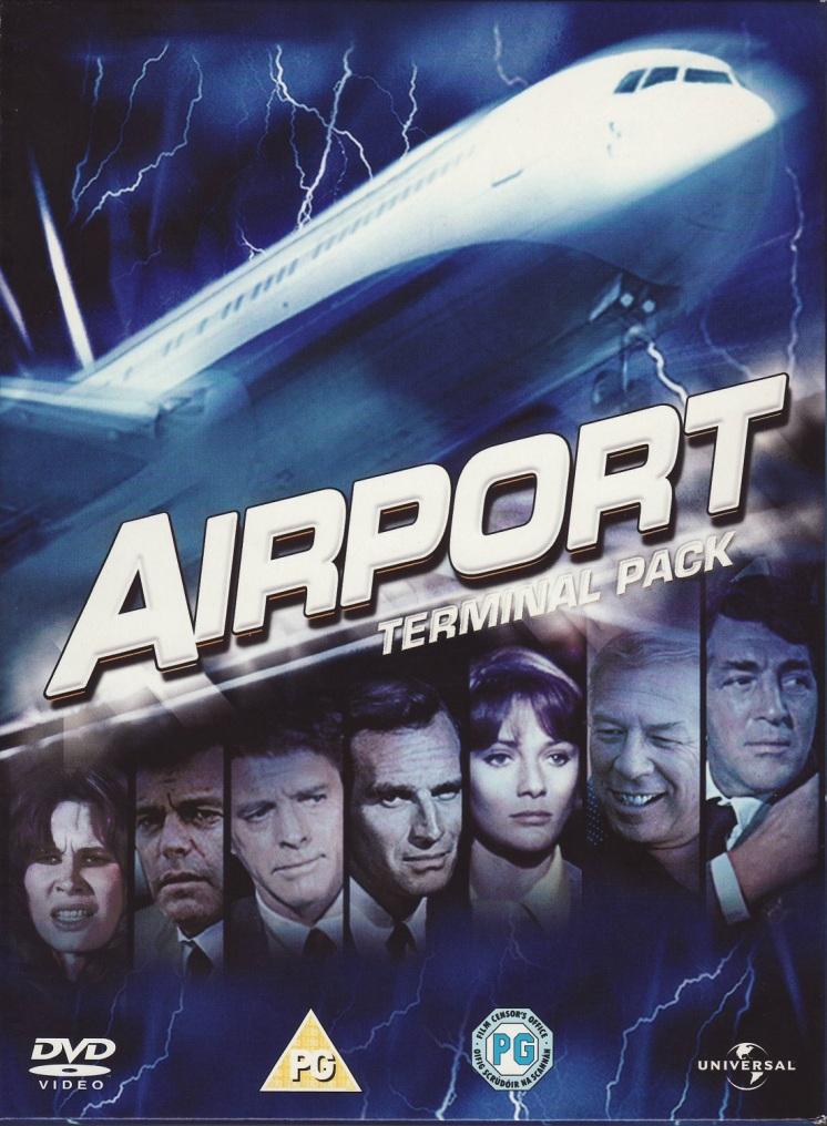 Airport Terminal Pack UK DVD Boxet