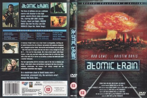 Atomic Train UK DVD Cover