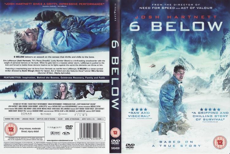 6 Below DVD Cover