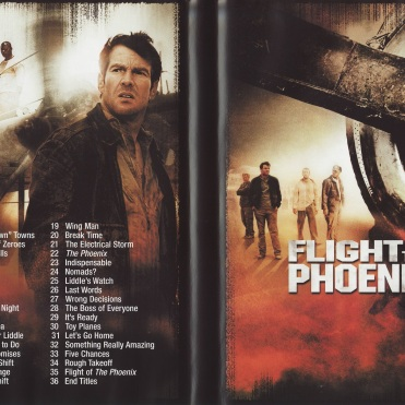 Flight of the Phoenix DVD cover inside