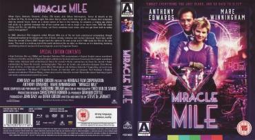 Miarcle Mile BluRay Cover