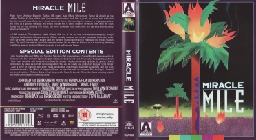 Miracle Mile BluRay Reverse Cover