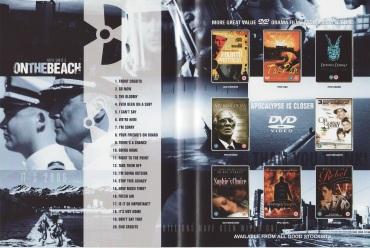 On the Beach DVD inside sleeve UK