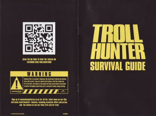 UK DVD 'survival guide' booklet