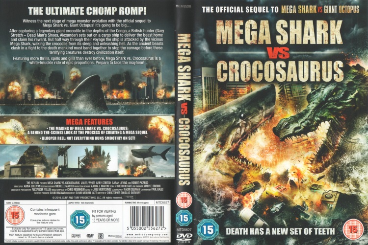 Mega Shark Vs Croc - Cover
